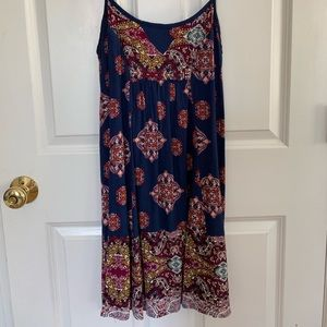 Xhilaration boho dress xs